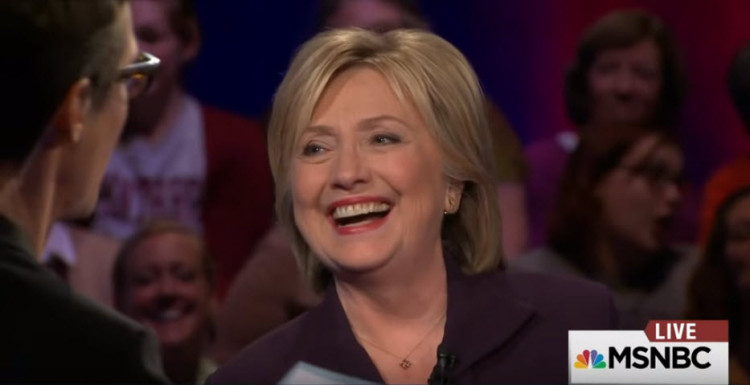 Rachel Maddow Puts Hillary On The Spot…And She Handles It Like A Boss! -VIDEO